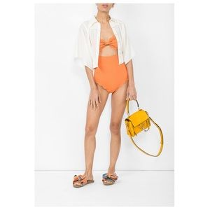 Marysia Antibes Maillot, Terracotta Color